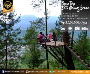 Open trip Kota Batu Malang Bromo 4 hari 3 malam 2018