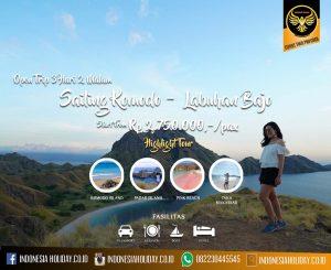 Open Trip Komodo Murah
